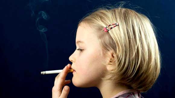I bambini fumano