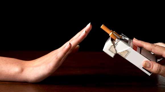Grazie, io non fumo!