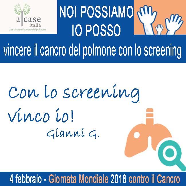 4 febbraio Giornata Mondiale contro il cancro