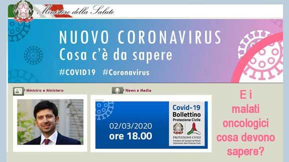 Malati di cancro al polmone e Covid 19