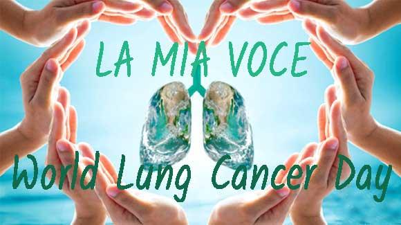 1 Agosto 2020, Giornata Mondiale del Tumore al Polmone: LA VOCE di PATRIZIA